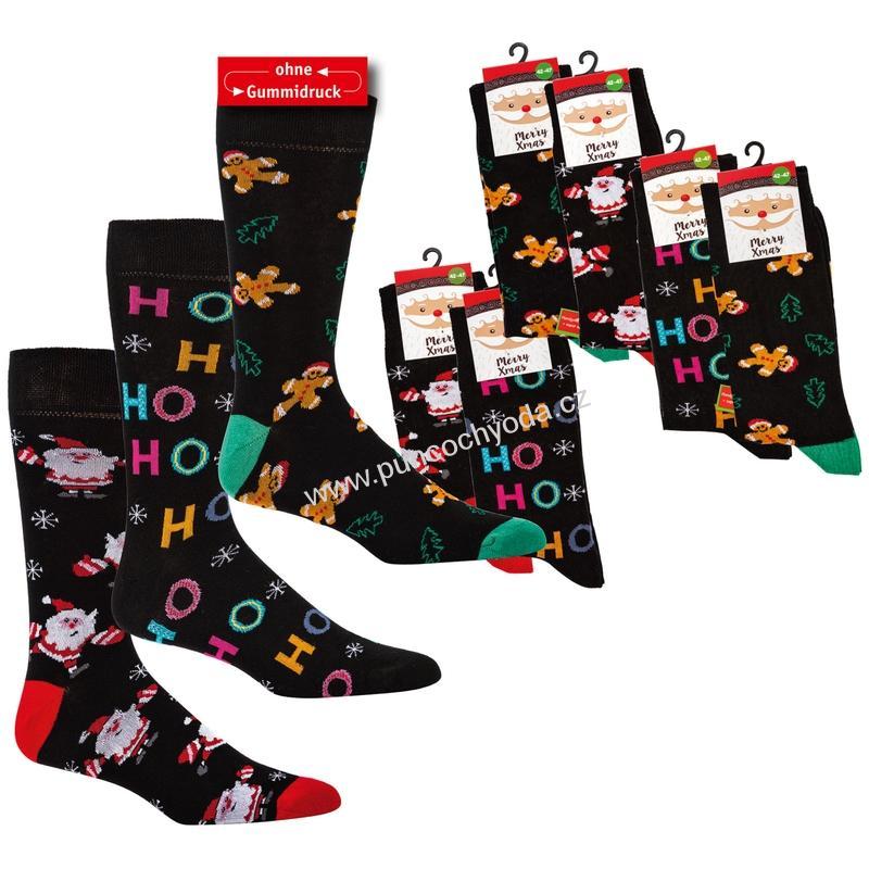 SOCKS 4 FUN 6189 dámské pánské vánoční ponožky (1 pár)  b93d642ceb