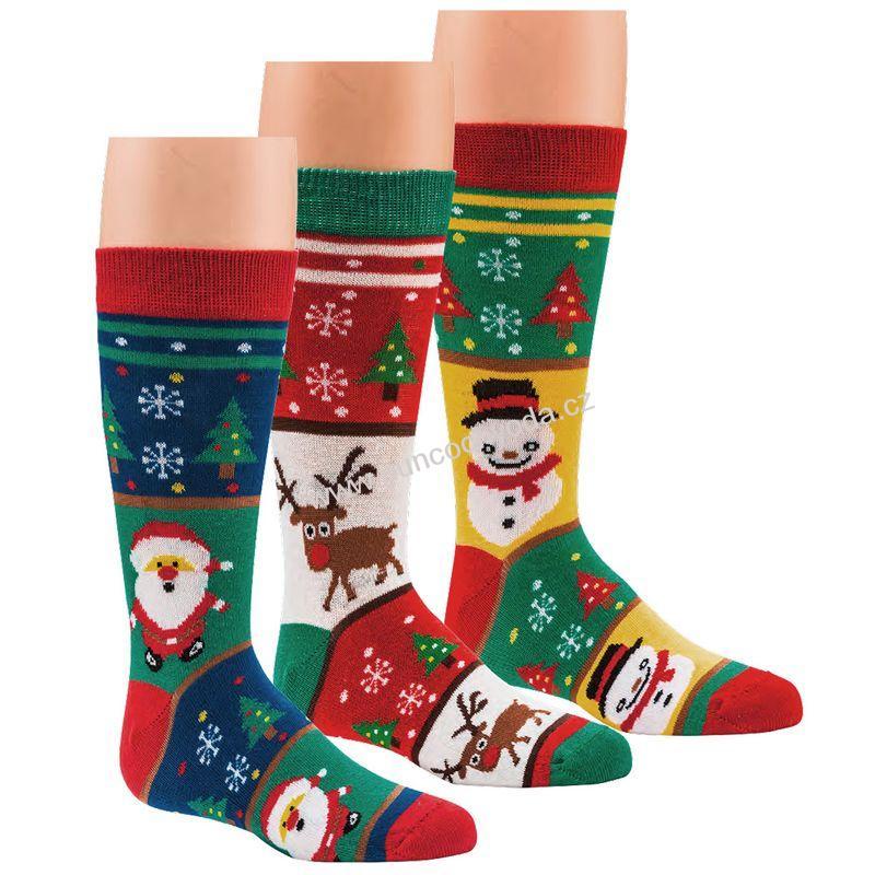683c53c9c65 SOCKS 4 FUN 3204 dětské vánoční ponožky (1 pár)