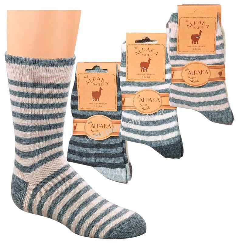 SOCKS 4 FUN 3120 dětské dámské vlněné ponožky (1 pár)  4c197f8583