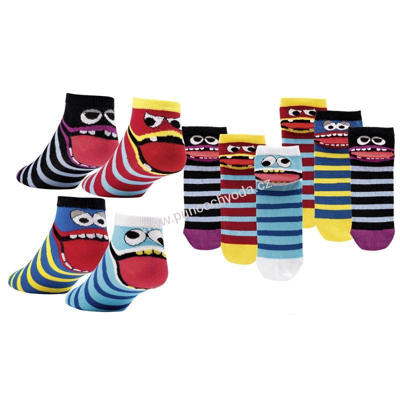 SOCKS 4 FUN 3183 DRZOUN nízké vzorované ponožky 8fcb2f3100