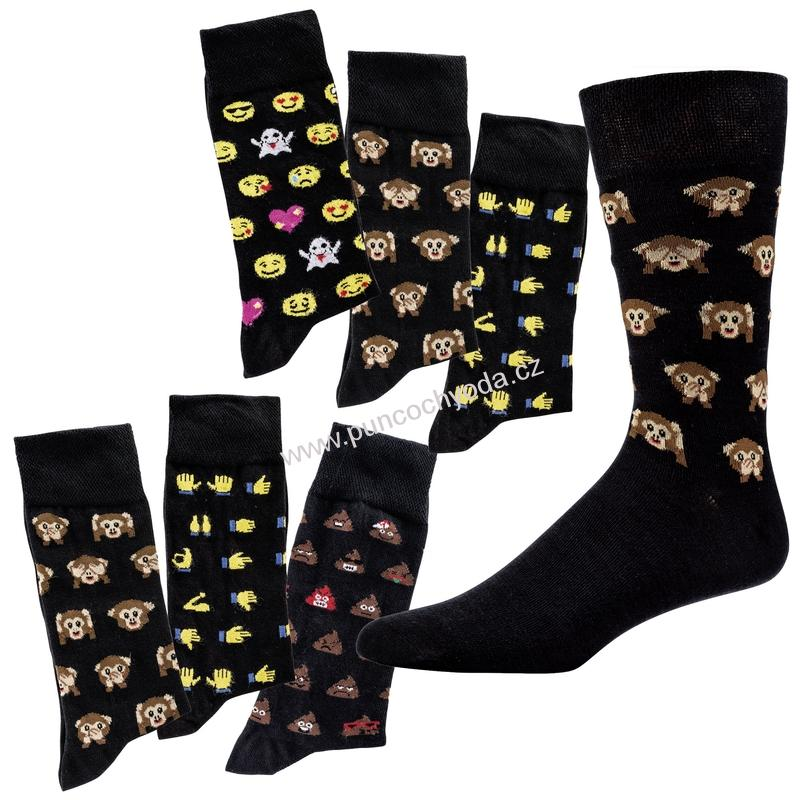 SOCKS 4 FUN 6197 dámské pánské vzorované ponožky (1 pár)  aefbdabc5b