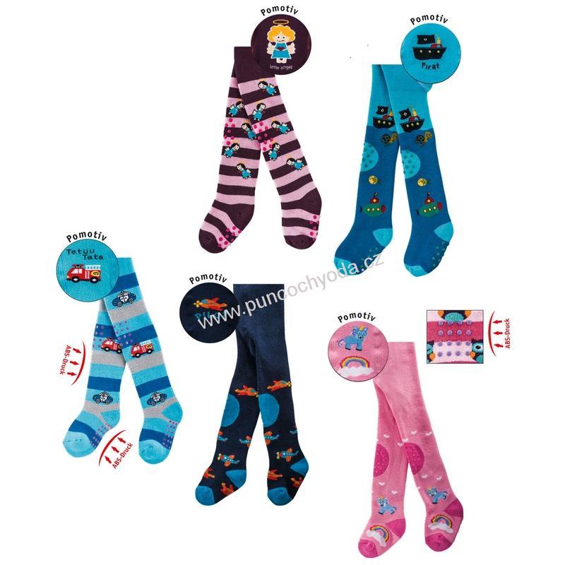 95f48506481 SOCKS 4 FUN 5769 dětské thermo punčochové kalhoty s ABS