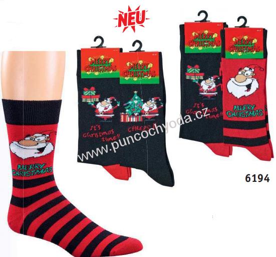 4e2d1c4a001 SOCKS 4 FUN 6194 pánské vánoční ponožky