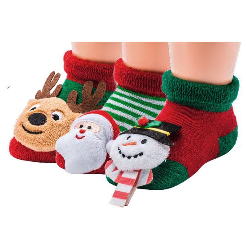 5227 SOCKS 4 FUN kojenecké chrastící ponožky ABS empty 7dec5f8b88