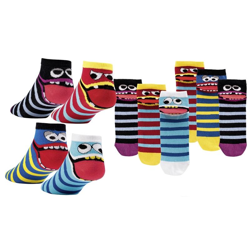 5aaf2ec2859 SOCKS 4 FUN 3183 DRZOUN nízké vzorované ponožky empty