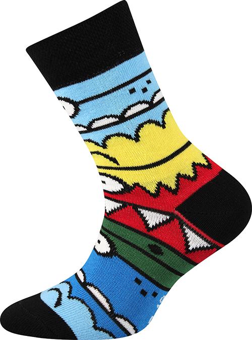 5f57f7add82 Boma TLAMIK A dětské dámské ponožky s elastanem empty