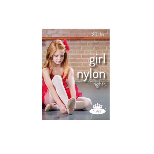 6ea3d7a7185 Boma girl nylon tights 20 DEN dětské silonové punčochové kalhoty empty