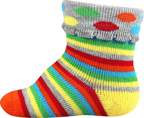 78ef310ffb1 Boma KUKY ABS kojenecké froté ponožky empty
