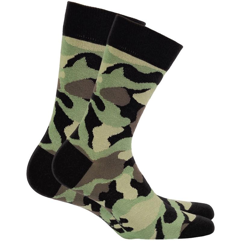 7df8cd5fc18 Wola pánské vzorované ponožky maskáče vz.