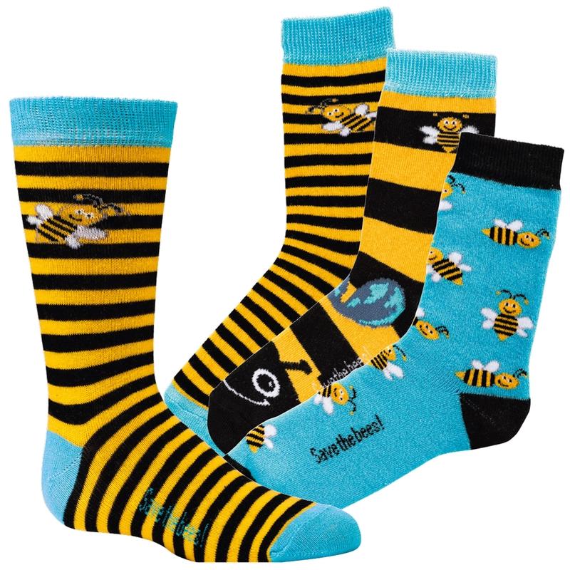 093fc07c06d SOCKS 4 FUN 3189 dětské ponožky vzor VČELA (1 pár) empty