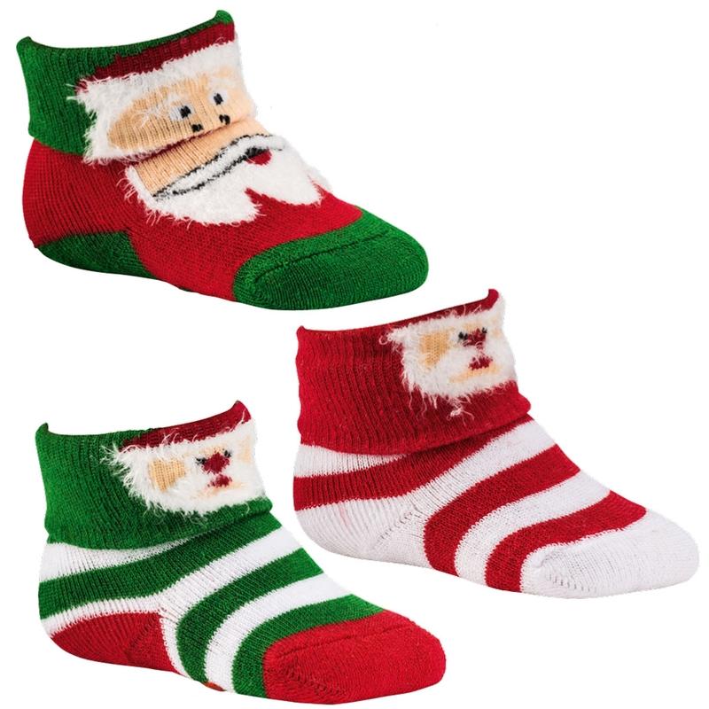 5174 SOCKS 4 FUN kojenecké vánoční ponožky (1 pár) empty 22d168a169