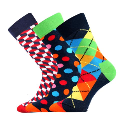 Lonka WOODOO mix A dámské pánské ponožky (1 pár) empty 70dd84b81a