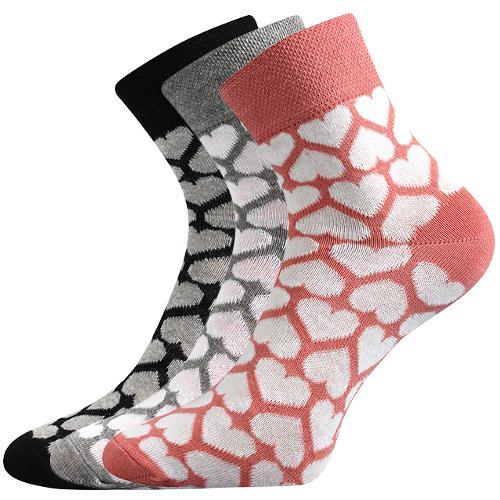 2fc608f1db5 Boma JANA 47 dámské ponožky se srdíčky empty