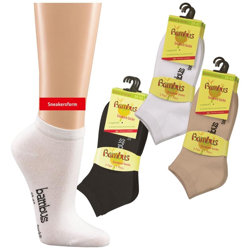 3c43dd090e4 SOCKS 4 FUN 2169 nízké bambusové ponožky (1 pár) empty