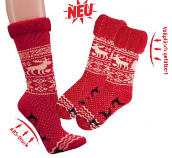 SOCKS 4 FUN 2257 zimní ponožky sob empty af50777bbe