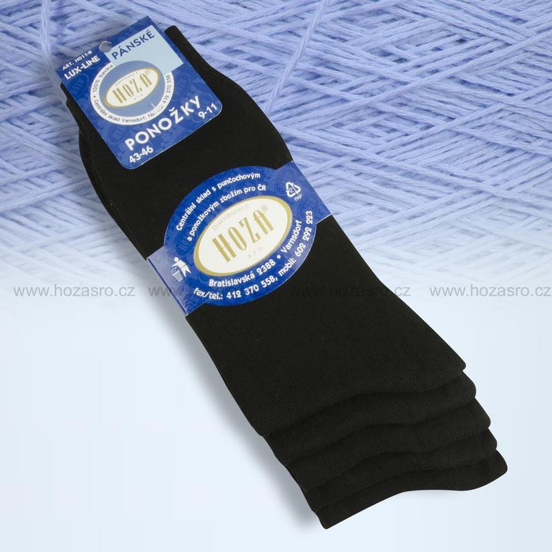 Hoza 100% BAVLNA pánské ponožky empty 201ffe0d81