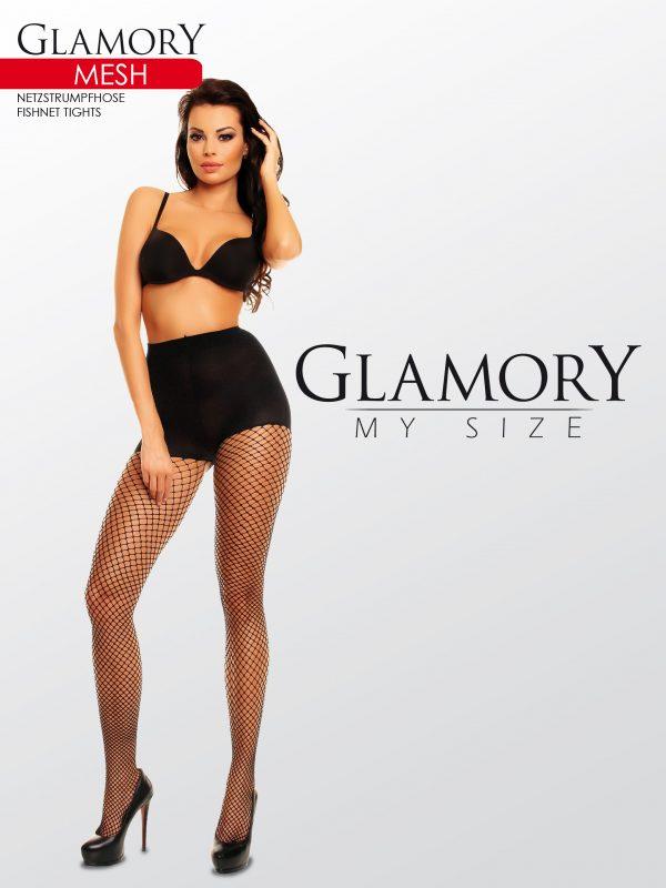 5d86a88a7dc Glamory MESH 50351 punčochové kalhoty XXXL empty