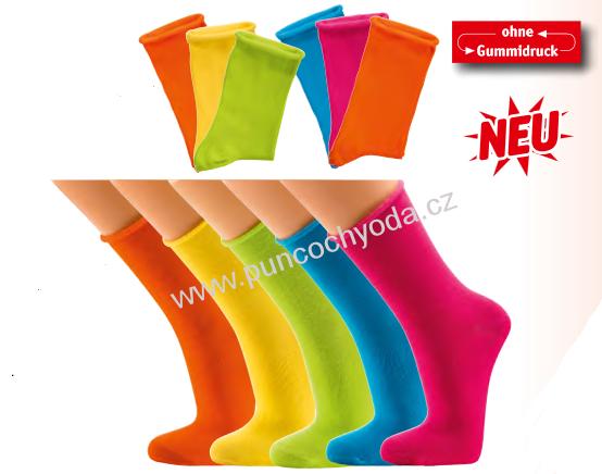 8db22cbd551 SOCKS 4 FUN 2147 dámské jednobarevné ponožky empty