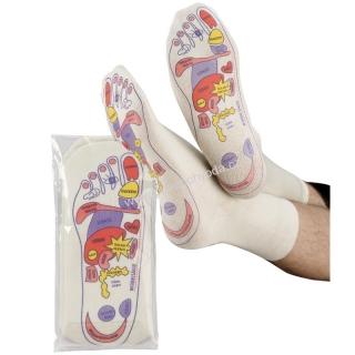 65729911960 2230 SOCKS 4 FUN ponožky s naznačenými body masírování