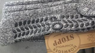 SOCKS 4 FUN 6586 domácí vlněné ponožky s ABS (1 pár) a3aeddee06