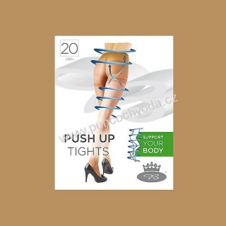 Boma PUSH UP tights 20 DEN XXL