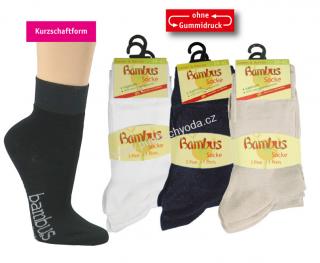 SOCKS 4 FUN 2171 bambusové ponožky (3 páry v balení) cf83993a56